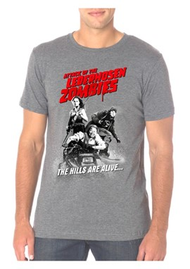 Attack of the Lederhosen Zombie Men's T-Shirt